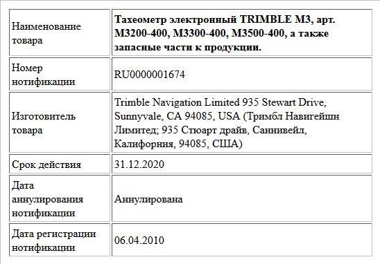 Тахеометр электронный TRIMBLE M3, арт. M3200-400, M3300-400, M3500-400, а также запасные части к продукции.