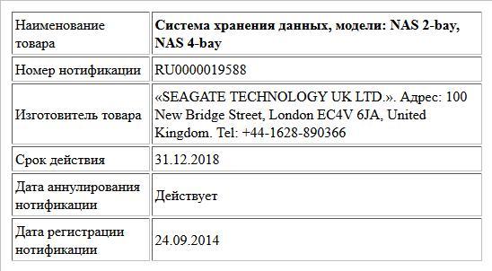 Система хранения данных, модели: NAS 2-bay, NAS 4-bay