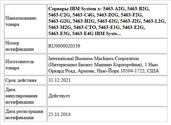 Серверы IBM System x: 5463-A2G, 5463-B2G, 5463-C2G, 5463-C4G, 5463-D2G, 5463-F2G, 5463-G2G, 5463-H2G, 5463-62G, 5463-J2G, 5463-L2G, 5463-M2G, 5463-CTO, 5463-E1G, 5463-E2G, 5463-E3G, 5463-E4G IBM Syste...