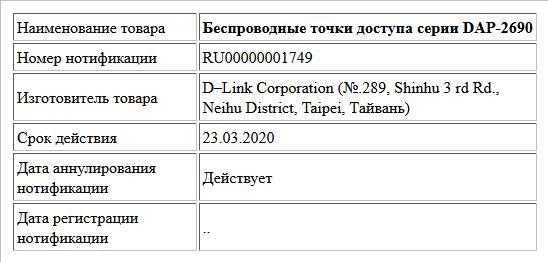 Беспроводные точки доступа серии DAP-2690