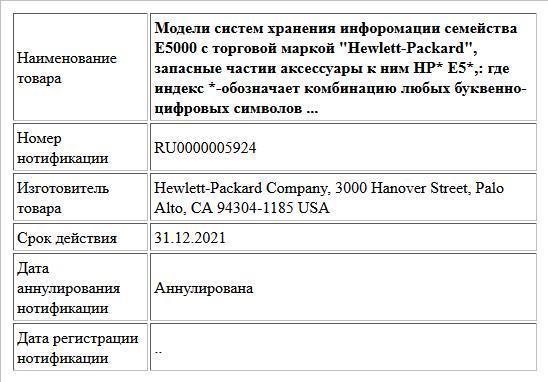Модели систем хранения инфоромации семейства Е5000 с торговой маркой