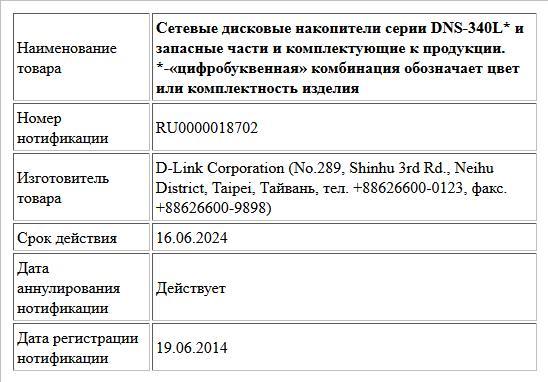 Сетевые дисковые накопители серии DNS-340L* и запасные части и комплектующие к продукции. *-«цифробуквенная» комбинация обозначает цвет или комплектность изделия